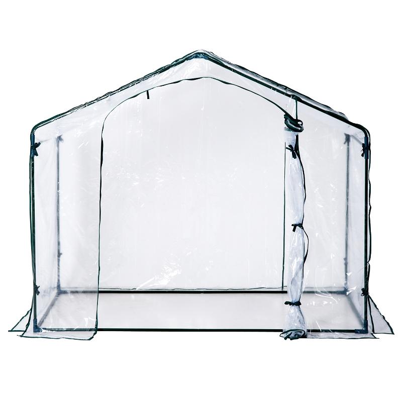 Outsunny® Invernadero Transparente de Jardín Vivero Casero Plantas 180x105x150cm