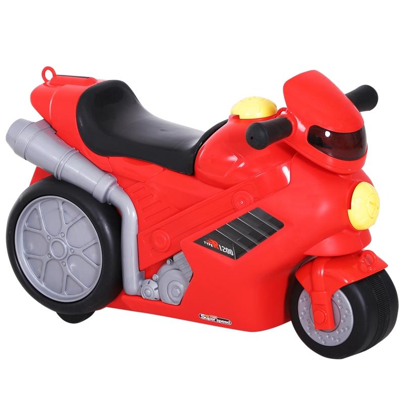 HOMCOM Maleta Correpasillos Niños Bolso de Taquilla de Viaje Infantil Bolsa de Equipaje de Mano Bebé Ride-On con 4 en 1