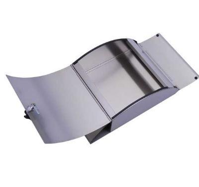 Buzon Caja Acero Con Compartimento Para Periodico Prensa Correos Correspondencia