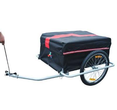 Remolque De Transporte Cargas Remolque De Bicicleta Para Equipaje Con Cesta NUE
